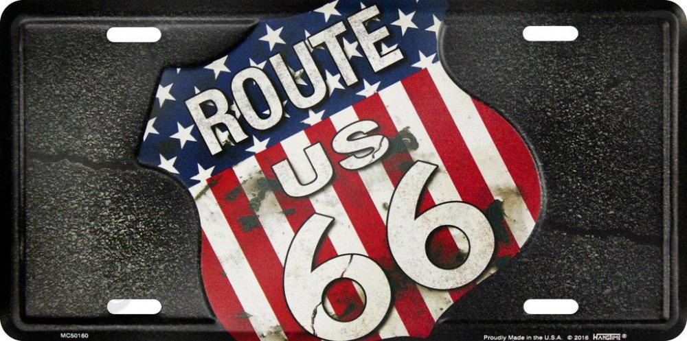SPZ Route US 66 black