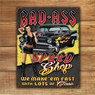 Cedule Bad Ass Speed Shop