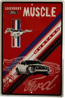 Cedule Ford Mustang Legendary Muscle (PROLIS)