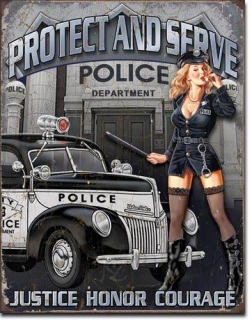 Cedule Police Dept - Protect & Serve