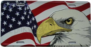 SPZ US Flag Eagle
