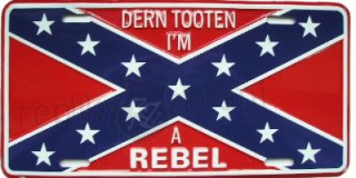 SPZ Confederate Flag Im Rebell
