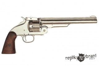 Revolver Smith & Wesson, 1869 (nikl)